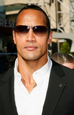 HOLLYWOOD - JULY 11:  Actor Dwayne 'The Rock' Johnson arrives at the 2007 ESPY Awards at the Kodak Theatre on July 11, 2007 in Hollywood, California.  (Photo by Vince Bucci/Getty Images)