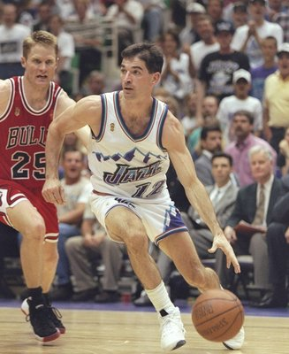 Stockton was Sloan's extension of himself on the court.
