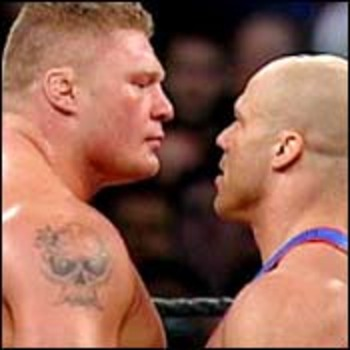 Brock Lesnar vs Kurt Angle