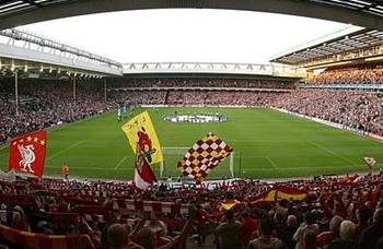 Though there are plenty of stadiums with rich histories in England, few match the charm of Anfield.