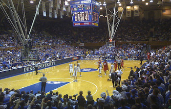There are few venues in sports that captures the pure fanaticism of the fan base like Cameron Indoor Stadium does.