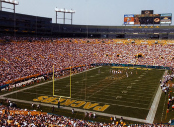 The frozen tundra of Lambeau Field is one of the best football stadiums in the country. And, its currently home to the reigning Super Bowl Champions!