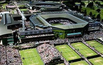 The grounds of the All England Club play host to the worlds most famous tennis tournament in June and July.