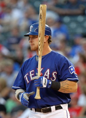 ARLINGTON, TX - MAY 06:  Josh Hamilton #32 of the Texas Rangers on May 6, 2010 at the Ballpark in Arlington, Texas.  (Photo by Ronald Martinez/Getty Images)