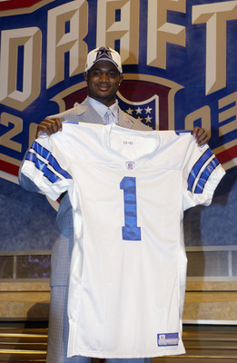Terence Newman on Draft Day.