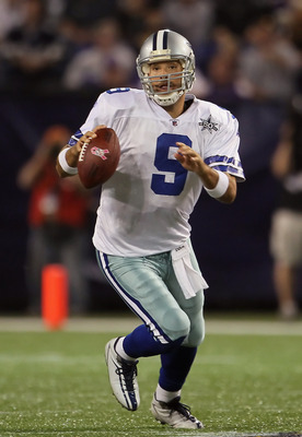 Tony Romo quarterback of the Dallas Cowboys.