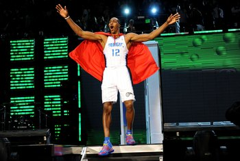 Urban legend has it that Superman's alter ego is not Clark Kent, but actually Dwight Howard.