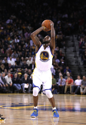 OAKLAND, CA - JANUARY 19:  Dorell Wright #1 of the Golden State Warriors in action against the Indiana Pacers at Oracle Arena on January 19, 2011 in Oakland, California.  NOTE TO USER: User expressly acknowledges and agrees that, by downloading and or usi