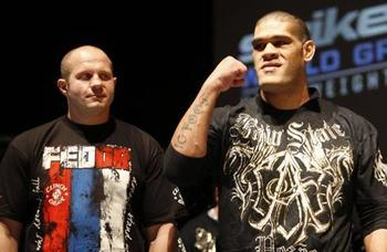 Fedor vs. Silva: For Whom The Bell Tolls