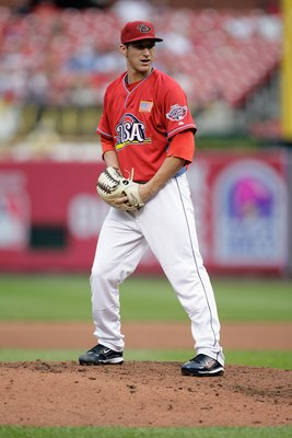 ST. LOUIS, MO - JULY 12: U.S. Futures All-Star Jarrod Parker of the Arizona Diamondbacks pitches during the 2009 XM All-Star Futures Game at Busch Stadium on July 12, 2009 in St. Louis, Missouri. (Photo by Jamie Squire/Getty Images)