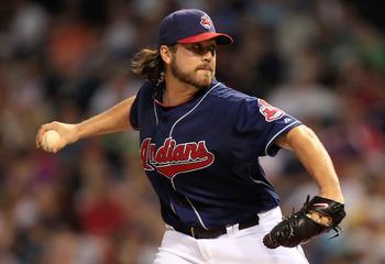 CLEVELAND - MAY 25:  Chris Perez #54 of the Cleveland Indians pitches against the Chicago White Sox during the game on May 25, 2010 at Progressive Field in Cleveland, Ohio.  (Photo by Jared Wickerham/Getty Images)