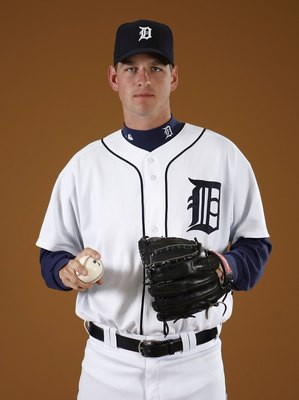 LAKELAND, FL - FEBRUARY 27:  Jacob Turner #50 of the Detroit Tigers poses during photo day at the Detroit Tigers Spring Training facility on February 27, 2010 in Lakeland, Florida.  (Photo by Gregory Shamus/Getty Images)