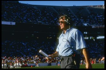 2 Dec 1990:  Ron Meyer, head coach of the Indianapolis Colts, watches from the sidelines during a game against the  Arizona Cardinals at Sun Devil Stadium in Tempe, Arizona.  The Cardinals won the game, 20-17.  Mandatory Credit: Stephen Dunn  /Allsport
