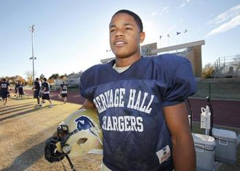 Sterling Shepard (photo courtesy of newsok.com)
