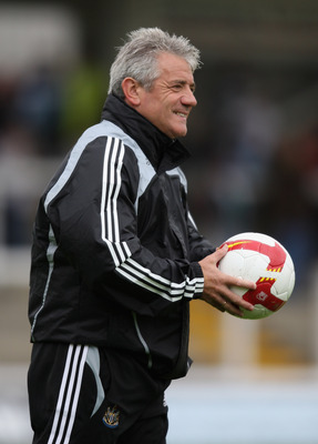 HARTLEPOOL, UNITED KINGDOM - JULY 19:  Kevin Keegan, the Newcastle Manager pictured during the pre-season friendly match between Hartlepool United and Newcastle United at Victoria Park on July 19, 2008 in Hartlepool, England.  (Photo by David Rogers/Getty