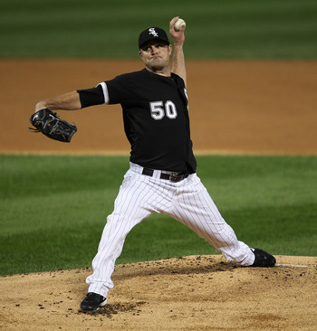 CHICAGO - SEPTEMBER 14: Starting pitcher John Danks #50 of the Chicago White Sox delivers the ball against of the Minnesota Twins at U.S. Cellular Field on September 14, 2010 in Chicago, Illinois. (Photo by Jonathan Daniel/Getty Images)