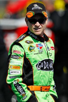 DAYTONA BEACH, FL - FEBRUARY 13:  Mark Martin, driver of the #5 GoDaddy.com Chevrolet, looks on during qualifying for the NASCAR Sprint Cup Series Daytona 500 at Daytona International Speedway on February 13, 2011 in Daytona Beach, Florida.  (Photo by Tom