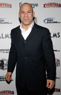 LAS VEGAS, NV - DECEMBER 01:  Mixed martial artist Wanderlei Silva arrives at the third annual Fighters Only World Mixed Martial Arts Awards 2010 at the Palms Casino Resort December 1, 2010 in Las Vegas, Nevada.  (Photo by Ethan Miller/Getty Images)