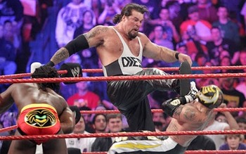Kevin Nash AKA Diesel made his WWE Return at the 2011 Royal Rumble.
