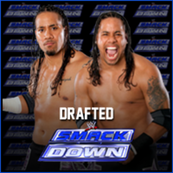 The Usos drafted to SmackDown