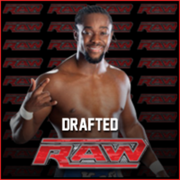Kofi Kingston drafted to RAW