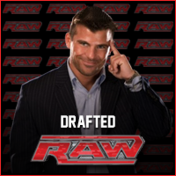 Matt Striker drafted to RAW