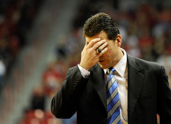 Steve Alford's reaction to recent NCAA tournament projections probably looked something like this.
