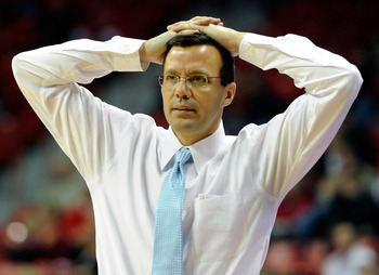 Tim Miles appears concerned, but his optimism is growing.
