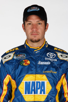 DAYTONA BEACH, FL - FEBRUARY 10:  Driver Martin Truex Jr. poses during the 2011 NASCAR Nationwide Series Media Day at Daytona International Speedway on February 10, 2011 in Daytona Beach, Florida.  (Photo by Chris Graythen/Getty Images for NASCAR)