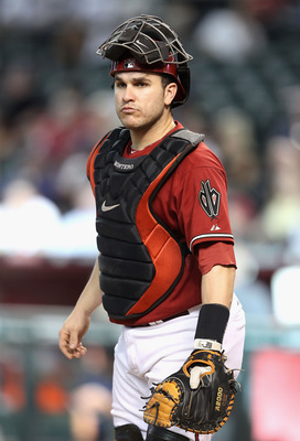 PHOENIX - SEPTEMBER 01:  Catcher Miguel Montero #26 of the Arizona Diamondbacks during the Major League Baseball game  against the San Diego Padres at Chase Field on September 1, 2010 in Phoenix, Arizona.  The Diamondbacks defeated the Padres 5-2.  (Photo