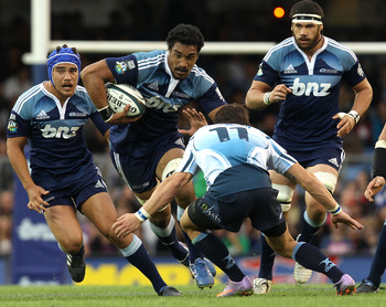 Jerome Kaino plays the game as hard as anyone and will be a key figure in the Blues campaign this season.