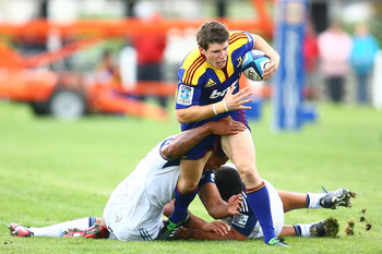 Colin Slade is the Highlanders marquee signing for 2011 and will look to restore pride to the team.