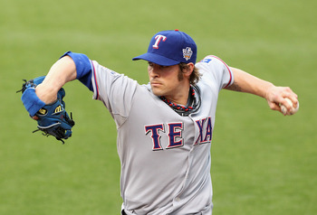 With Cliff Lee gone, CJ Wilson assumes the mantle as the Rangers staff leader
