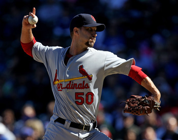 Adam Wainwright should be in the conversation for NL Cy Young in 2011