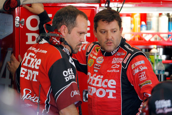 Darian Grubb and Tony Stewart