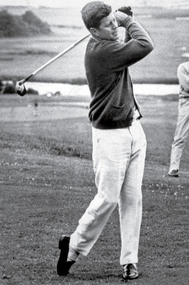 The other Jack: Kennedy had a 7-10 handicap despite a very bad back