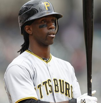 DETROIT - JUNE 13: Andrew McCutchen #22 of the Pittsburgh Pirates bats in the sixth inning against the Detroit Tigers during the game on June 12, 2010 at Comerica Park in Detroit, Michigan. The Tigers defeated the Pirates 4-3.  (Photo by Leon Halip/Getty