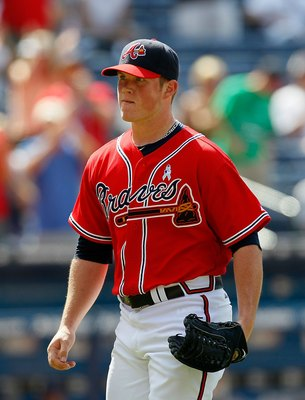ATLANTA - JUNE 20:  Pitcher Craig Kimbrel #46 of the Atlanta Braves of the Kansas City Royals at Turner Field on June 20, 2010 in Atlanta, Georgia.  (Photo by Kevin C. Cox/Getty Images)