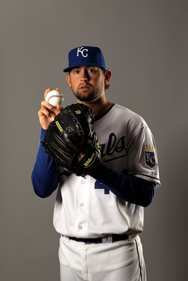 SURPRISE, AZ - FEBRUARY 26:  Luke Hochevar of the Kansas City Royals poses during photo media day at the Royals spring training complex on February 26, 2010 in Surprise, Arizona.  (Photo by Ezra Shaw/Getty Images)