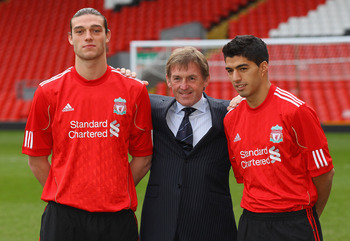 Andy Carrol, Kenny Dalglish and Luis Suarez: All Liverpool need is a few more of these quality