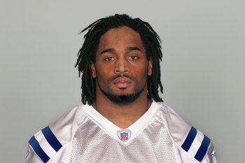 INDIANAPOLIS - 2009:  Bob Sanders of the Indianapolis Colts poses for his 2009 NFL headshot at photo day in Indianapolis, Indiana.  (Photo by NFL Photos)