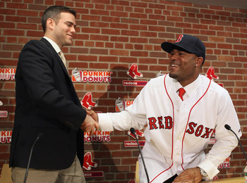 Theo Epstein and Carl Crawford