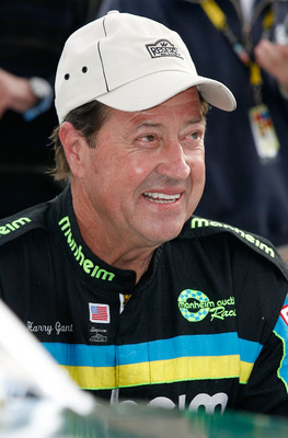 BRISTOL, TN - MARCH 21: NASCAR legend Harry Gant looks on prior to the NASCAR Legends UARA Race at Bristol Motor Speedway on March 21, 2009 in Bristol, Tennessee.  (Photo by Geoff Burke/Getty Images for NASCAR)