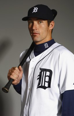 LAKELAND, FL - FEBRUARY 23:  Dusty Ryan of the Detroit Tigers poses for a portrait during Photo Day on February 23, 2008 at Joker Marchant Stadium in Lakeland, Florida. (Photo by: Nick Laham/Getty Images)