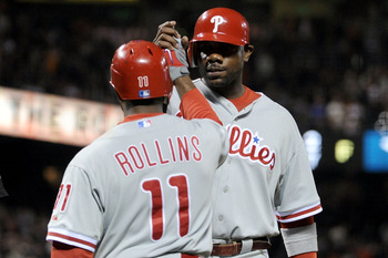 Jimmy Rollins is coming back healthy for the first time since he missed almost half the season due to injury.