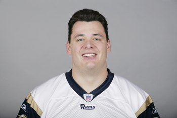 ST. LOUIS - 2009:  Adam Goldberg of the St. Louis Rams poses for his 2009 NFL headshot at photo day in St. Louis, Missouri.  (Photo by NFL Photos)