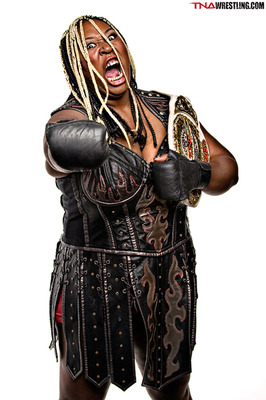 Awesome Kong is definitely joining WWE, but would a diva get a promo