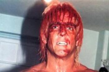 """Nature Boy"" Ric Flair has engaged in some truly gory matches during his career. But can ""Space Mountain"" claim one of the twenty-five bloodiest matches in wrestling history?"