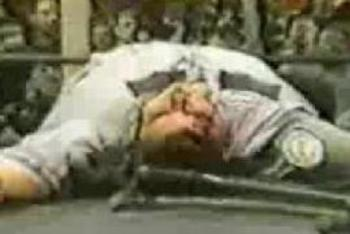 The participation of Eric Kulas in an ECW house show nearly brought ruin to the company's pay per view chances in 1996.