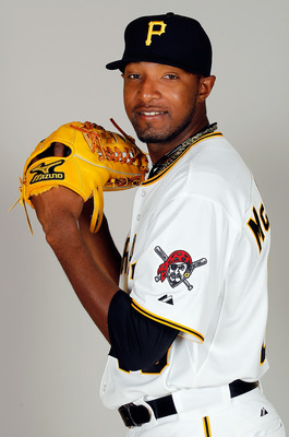 BRADENTON, FL - FEBRUARY 20:  Pitcher James McDonald #53 of the Pittsburgh Pirates poses for a photo during photo day at Pirate City on February 20, 2011 in Bradenton, Florida.  (Photo by J. Meric/Getty Images)